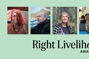 Laureados do prêmio Right Livelihood Award 2021 mobilizam comunidades contra violência e mudanças climáticas