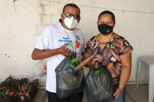 Campanha de jovens na Paraíba e na Alemanha arrecada toneladas de alimentos e beneficia mais de mil famílias
